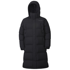 Mens Blue Brush™ Long Down Jacket